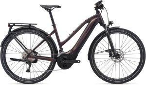 GIANT Explore E+ 1 Pro STA S metallic brown / black satin-matt-gloss