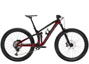 Trek Fuel EX 9.8 XT XL (29  wheel) Raw Carbon/Rage Red