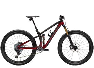 Trek Fuel EX 9.9 X01 AXS ML (29  wheel) Raw Carbon/Rage Red