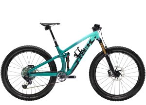 Trek Fuel EX 9.9 X01 AXS L (29  wheel) Miami Green to Teal Fade
